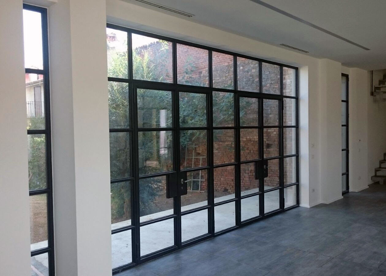 Steel Windows And Doors. Custom Sliding Doors