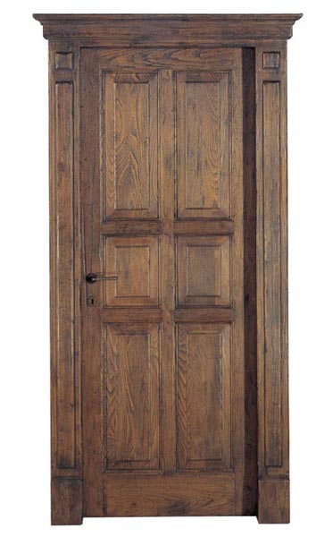 Genial Assisi   Door In Chestnut Wood