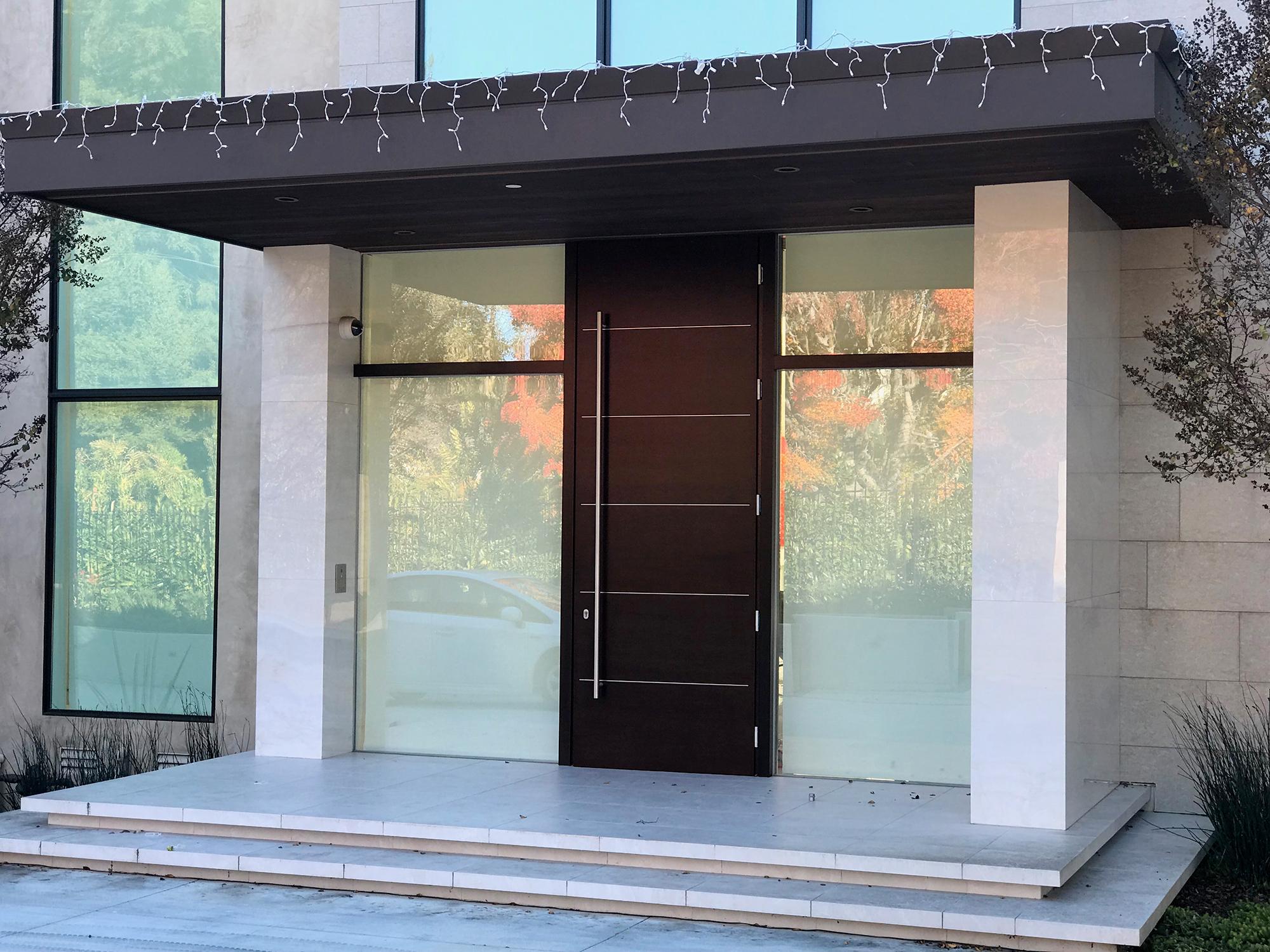 Custom Wood Entry Door 35