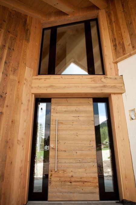 Custom Wood Entry Door 24 America Italiana