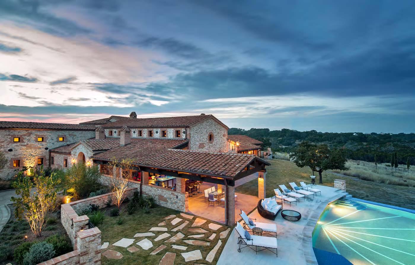 Modern Day Tuscan Farmhouse