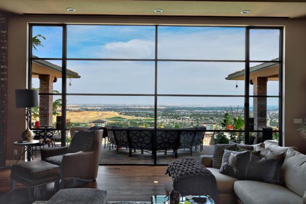 Contemporary Steel- Richland-Washington & America Italiana-Custom Windows Doors and more